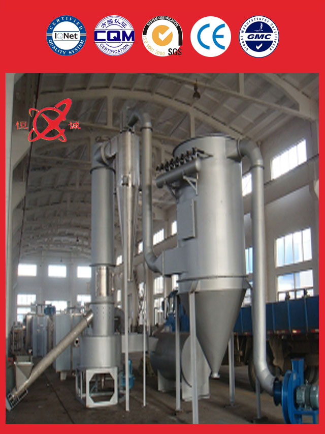 Industrial Flash Dryer Equipment in china